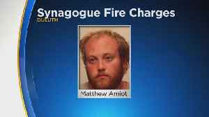 Matthew Amiot Charged In Duluth Synagogue Fire [Video]
