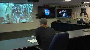 News video: Brad Pitt gets seal of approval on new space film from ISS astronaut