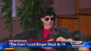 """""""The Cars"""" Lead Singer Dead at 75 [Video]"""