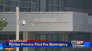 News video: Purdue Pharma Filed For Bankruptcy
