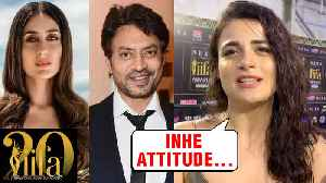 Radhika Madan On Working With Irrfan Khan & Kareena Kapoor In Angrezi Medium | IIFA ROCKS 2019 [Video]