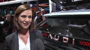 Audi at the IAA Frankfurt 2019 - Hildegard Wortmann [Video]