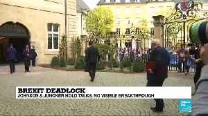 Johnson & Juncker hold talks, no visible breakthrough - Geraint Johnes analysis [Video]