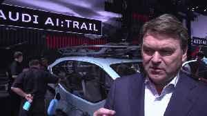 Audi at the IAA Frankfurt 2019 - Bram Schot [Video]
