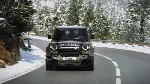 The new Land Rover Defender - Cold testing [Video]
