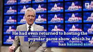 'Jeopardy' Host Alex Trebek Is Back on Chemotherapy [Video]