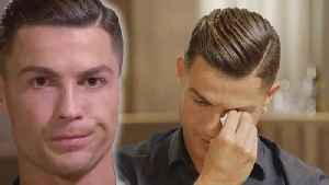 Cristiano Ronaldo Cries In Interview About His Father & New Allegations [Video]