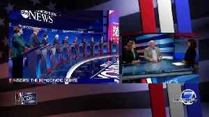Politics Unplugged - Wins & Losses in Democratic Debate [Video]