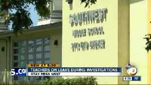 Southwest Middle teachers on leave during investigation [Video]