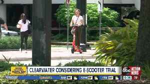 Clearwater considering electric scooter pilot program [Video]