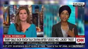 Ilhan Omar slams Trump over threats to Iran [Video]