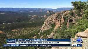 Reservations available for camping at Staunton State Park [Video]