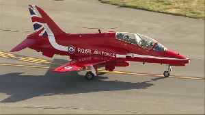 UK RAF's Red Arrows land at Rocky Mountain Metro Airport [Video]