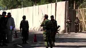 News video: Taliban attacks kill 48, Afghan leader unhurt as bomber targets rally