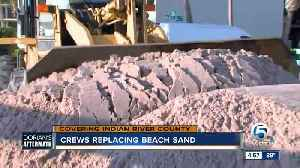 Crews replacing beach sand in Indian River County [Video]