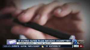 Is vaping safer than smoking cigarettes? [Video]