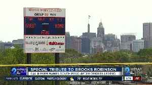 Special tribute to Brooks Robinson [Video]