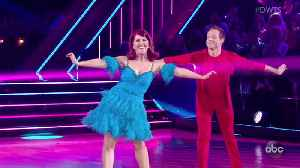 Kate Flannery's Sure-Footed Cha Cha [Video]