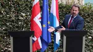 News video: Brexit press conference goes on without Johnson