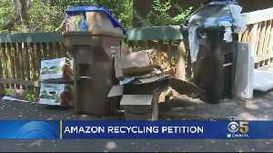 Marin Co. Woman Petitions To Get Amazon To Collect, Reuse Its Delivery Boxes [Video]