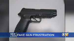 Fake Gun Confiscated By Arlington Police From Student At Lamar High School [Video]