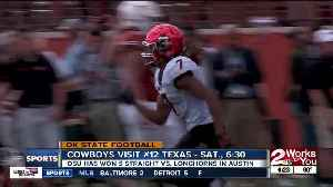 Oklahoma State Football looking for a 6th straight win over Texas, in Austin [Video]