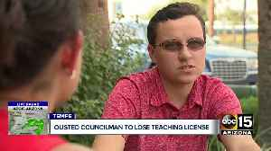 Former Tempe Councilman Kolby Granville gives up teaching license [Video]