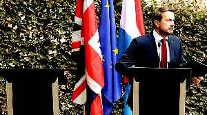 Boris Johnson skips news conference with Luxembourg PM [Video]