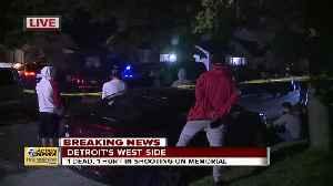 1 dead, 1 hurt in shooting on Detroit's west side [Video]