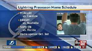 Lightning hockey returns Tuesday with first preseason game [Video]