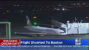 United Flight From Washington DC To Ireland Diverted To Boston [Video]