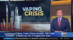 NYS Health Officials To Discuss Flavored E-Cigarette Ban [Video]
