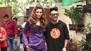 Actress Urvashi singer Tony Kakkar launch Bijli ki Taar song in Mumbai [Video]