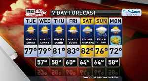 Claire's Forecast 9-17 [Video]