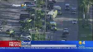 Gas Leak Stopped At Doral Shopping Plaza [Video]