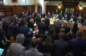 UK's top court to rule on parliament suspension [Video]