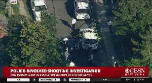 Female Police Officer Shot In Wrist, Civilian Seriously Wounded In Staten Island [Video]