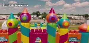 World's largest bounce house coming back [Video]