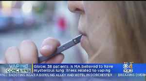 Dozens In Massachusetts Suffering From 'Vaping-Related' Lung Illness [Video]