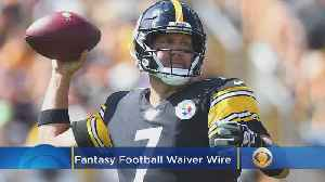 News video: Fantasy Football Waiver Wire Week 3 Top Pickup Options