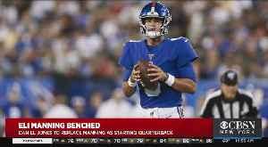 News video: Eli Manning Benched; Giants Name Daniel Jones Starting QB