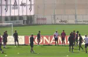 Higuain lashes out in Juve training session [Video]