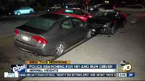 Hit-and-run driver sought in Normal Heights wreck [Video]
