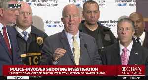 Mayor, NYPD Officials Address Police-Involved Shooting Investigation [Video]