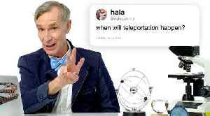 Bill Nye Answers Science Questions From Twitter - Part 3 [Video]