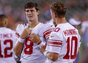 Giants Name Daniel Jones Starting Quarterback and Bench Eli Manning [Video]