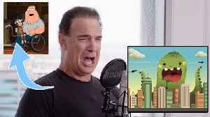 Patrick Warburton (Joe Swanson) Improvises 9 New Cartoon Voices [Video]
