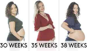 Pregnant Women Weeks 7 to 40: What Time Do You Go to Bed? [Video]