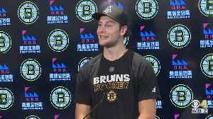 Brandon Carlo 'Excited And Blessed' After Signing New Deal With Bruins [Video]