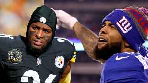 Le'Veon Bell Spotted CRYING On Sideline During Loss To OBJ & Browns [Video]